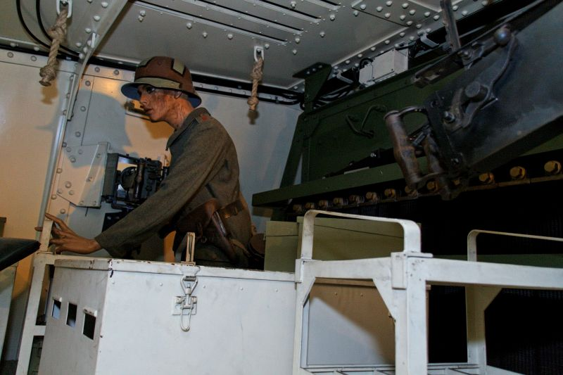 WW1 - A7V  - Munster - Panzer Museum Normal14