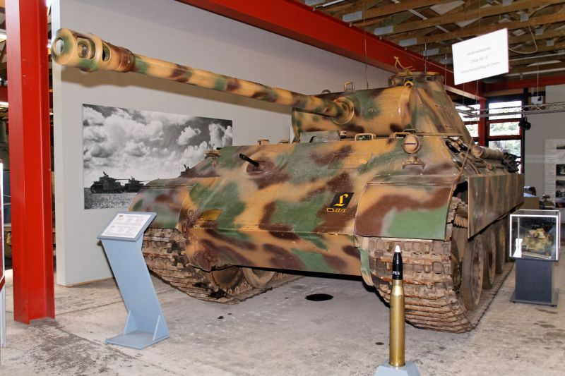 Panther - Munster - Panzer Museum - DE Normal17