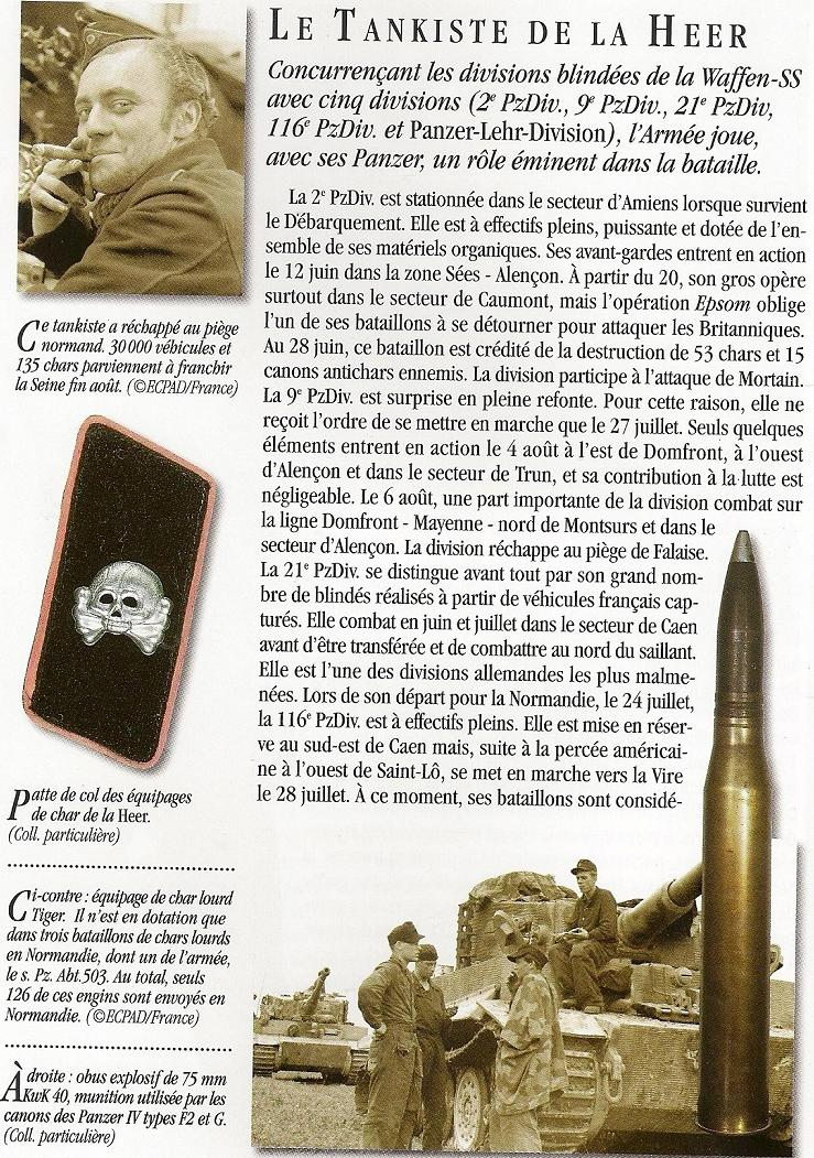 Heer - Les tankistes - France 1944 Numari14