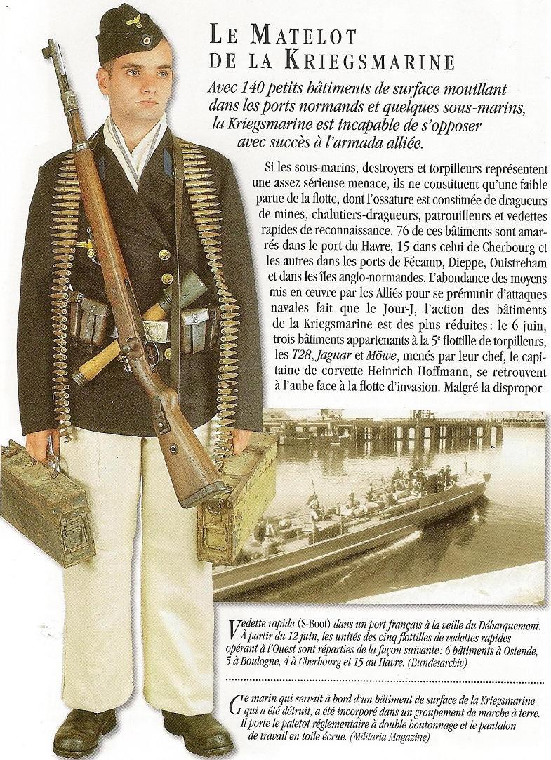 Matelot Kriegsmarine - France 1944 Numari17