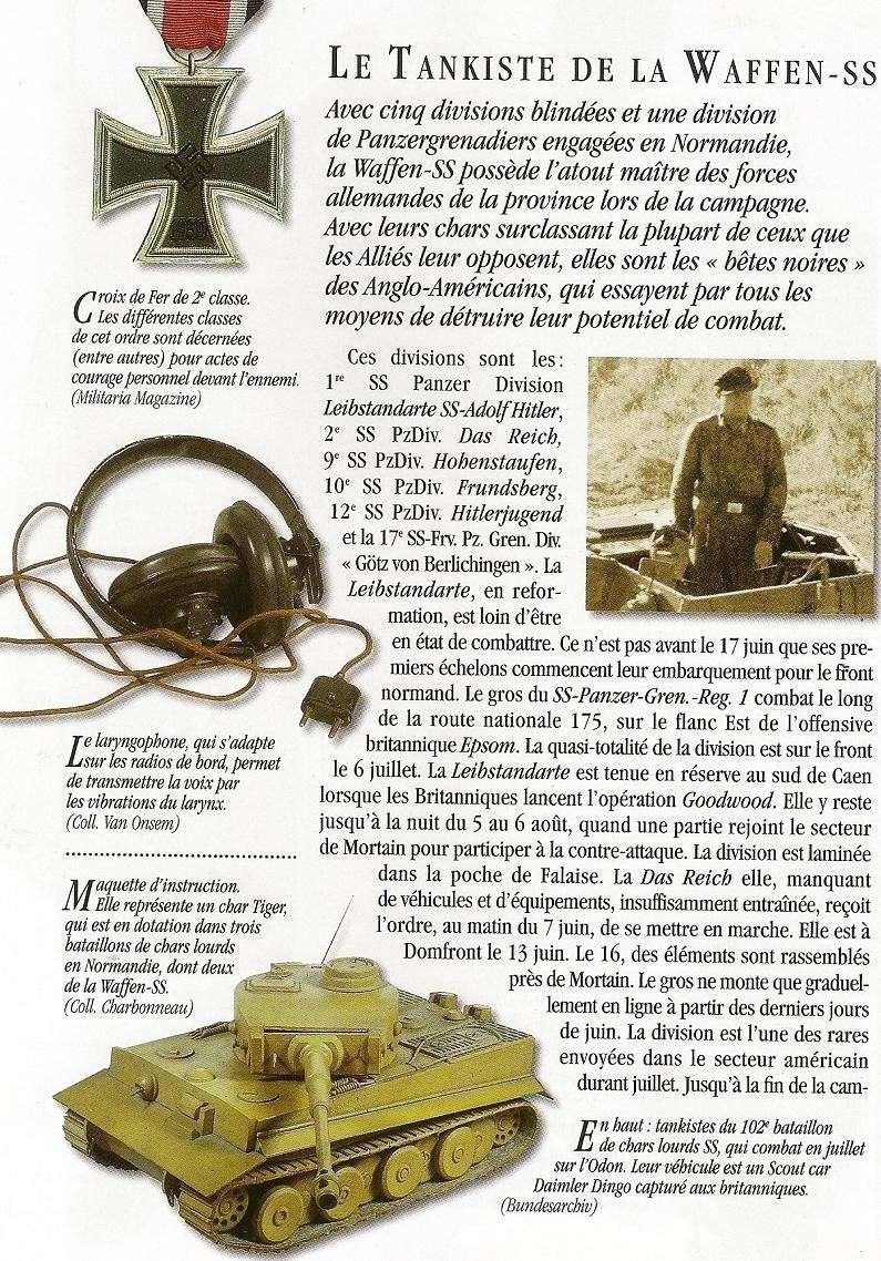 Waffen SS - les Equipages de Panzer - France 44 Numari19