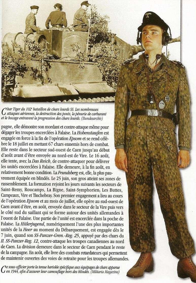 Waffen SS - les Equipages de Panzer - France 44 Numari20