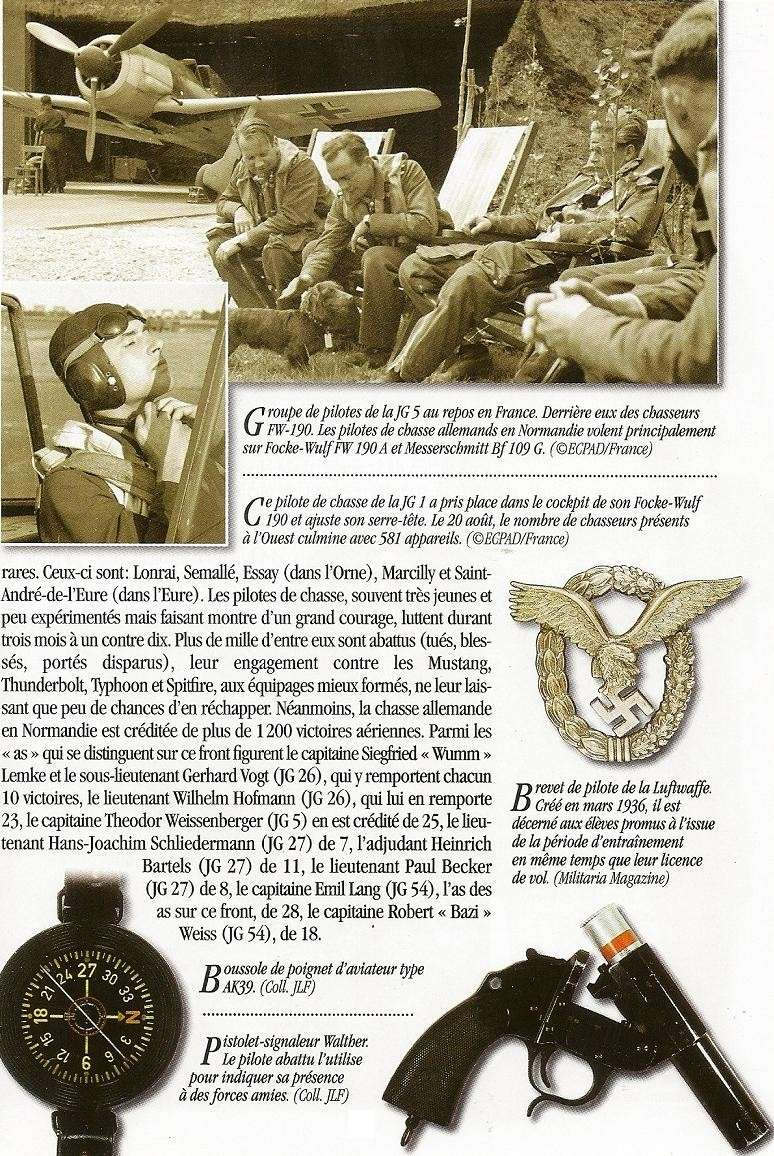 Pilote de Chasse -  LUFTWAFFE - France 1944 Numari24