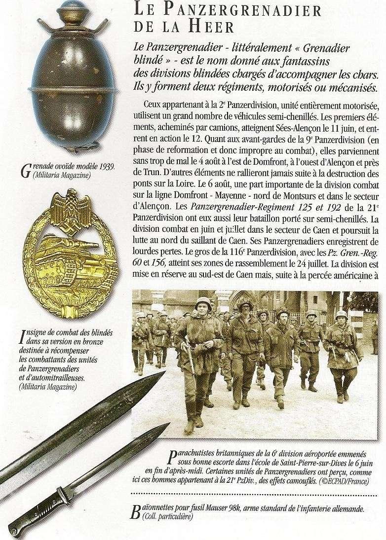HEER - Panzer Grenadier  - france 44 Numari25