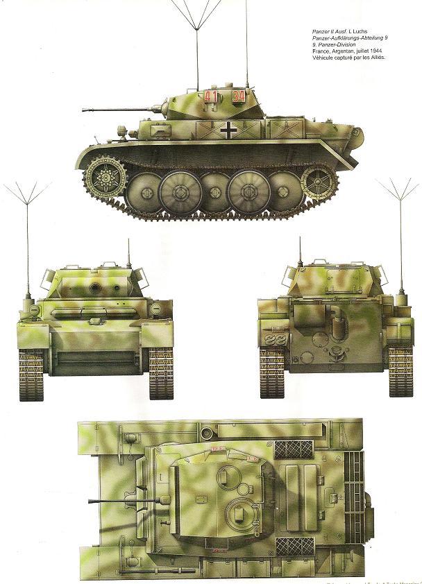 "Panzer II L ""Luchs"" - Lynx  Numari44"
