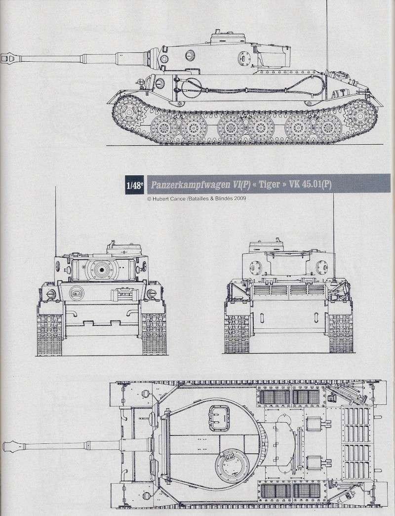 PORSCHE TIGER -  VK4501(P) / Porsche Typ 101 Numari56