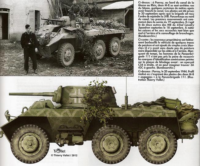 Bataille d'Arracourt - Sept 1944 Numari70
