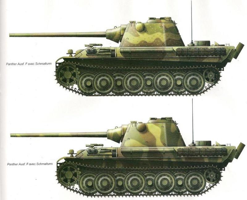 Panther II ou Panther ausf F  Numari71