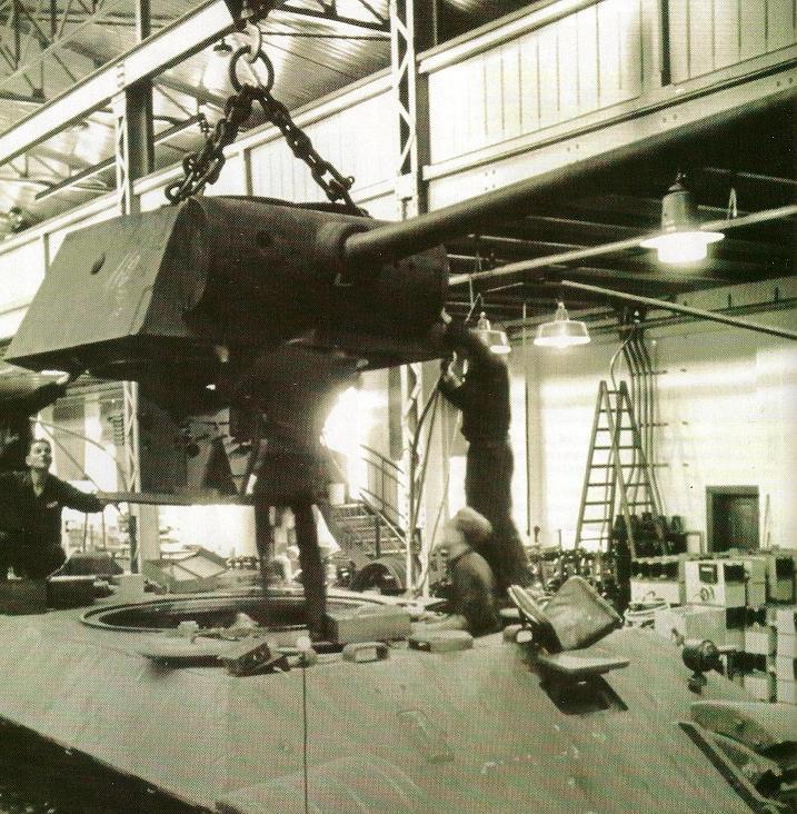 La Production des Panzer Numari88