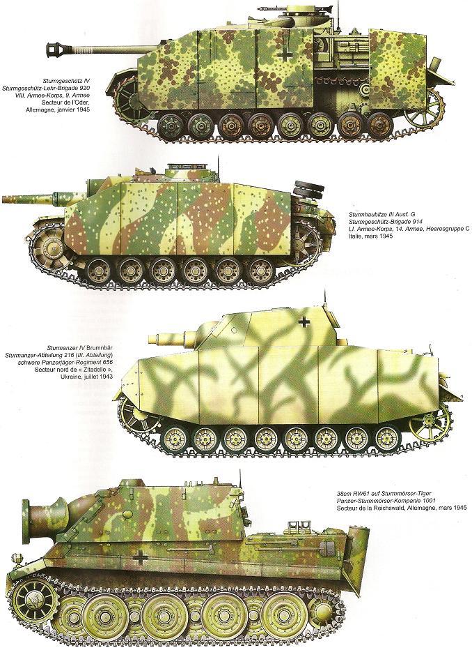 Camouflages, numerotation et marquages des Panzer Numari92