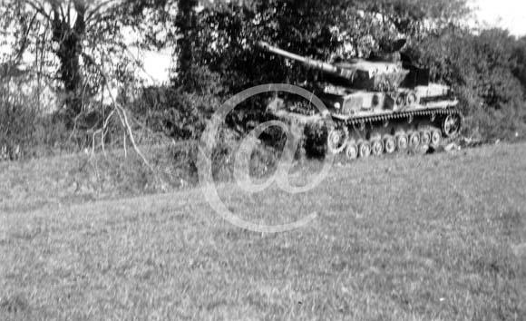 Panzer Wreck - Normandie 1944 P0029110