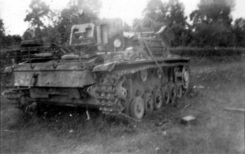 Panzer Wreck - Normandie 1944 P0041710