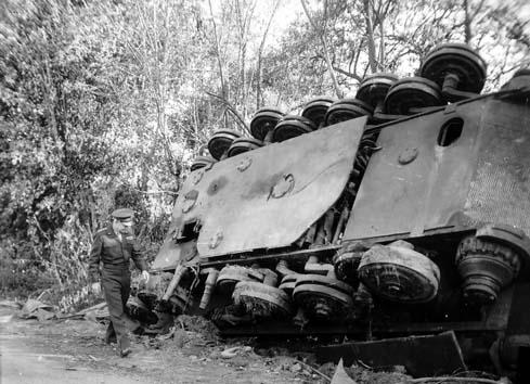 Panzer Wreck - Normandie 1944 P0111810