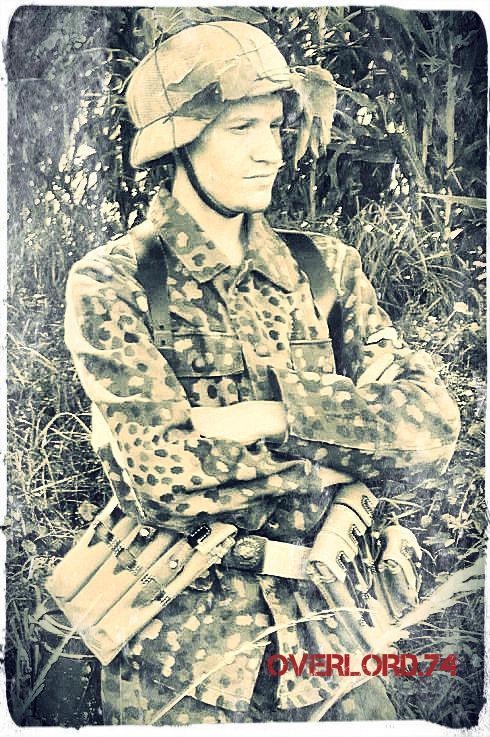 """OVERLORD.74 - Team """"11 eme PzDiv"""" 1944/45 P1020310"""