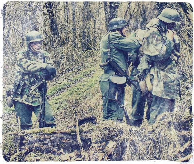 """OVERLORD.74 - Team """"11 eme PzDiv"""" 1944/45 P1020713"""