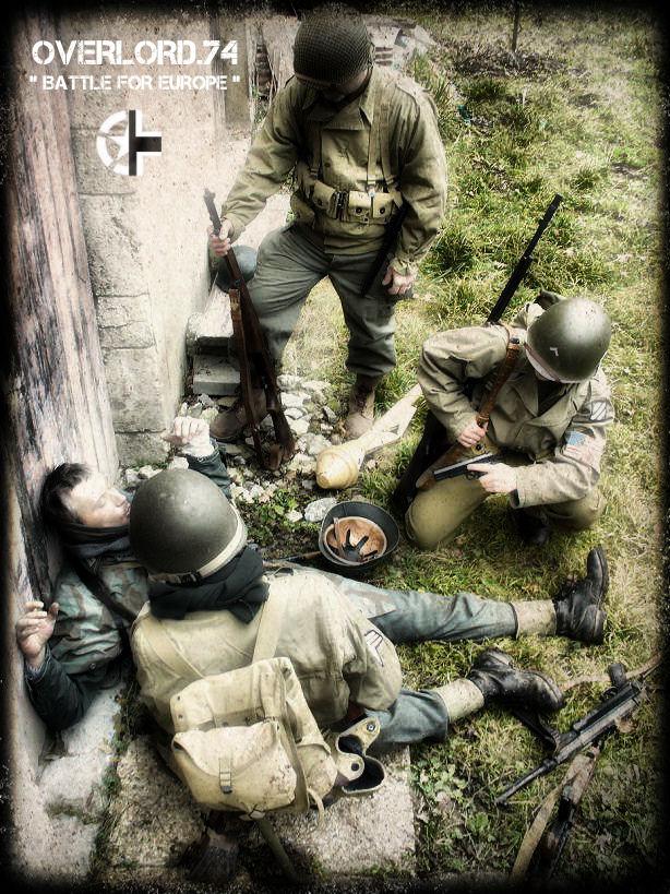 """OVERLORD.74 - Team """"11 eme PzDiv"""" 1944/45 P1020714"""