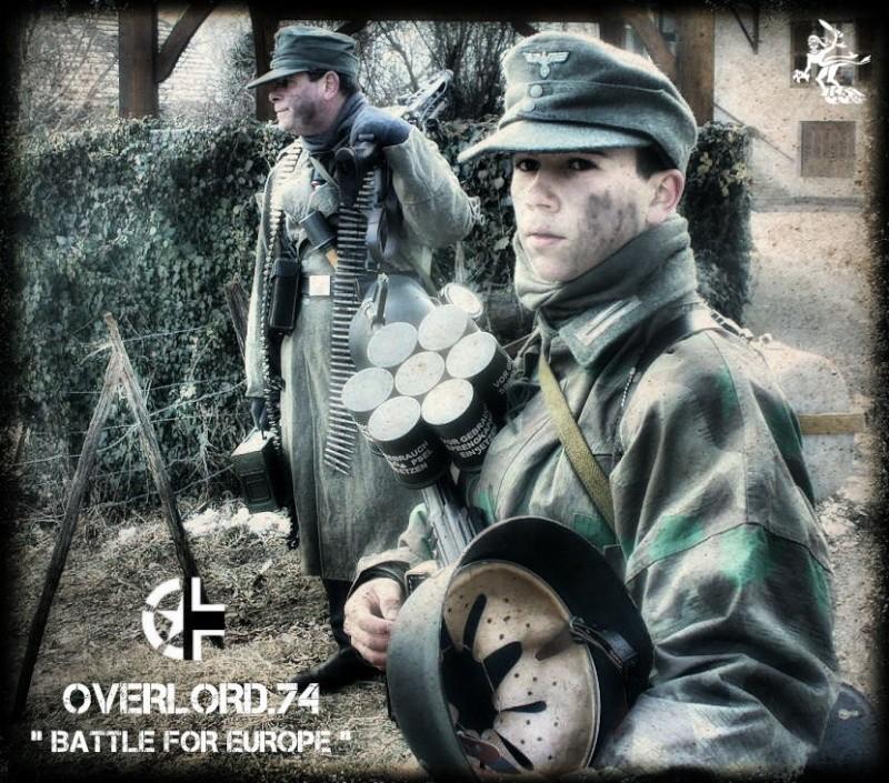 """OVERLORD.74 - Team """"11 eme PzDiv"""" 1944/45 P1060110"""