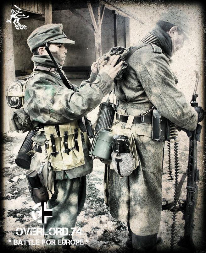 """OVERLORD.74 - Team """"11 eme PzDiv"""" 1944/45 P1060112"""