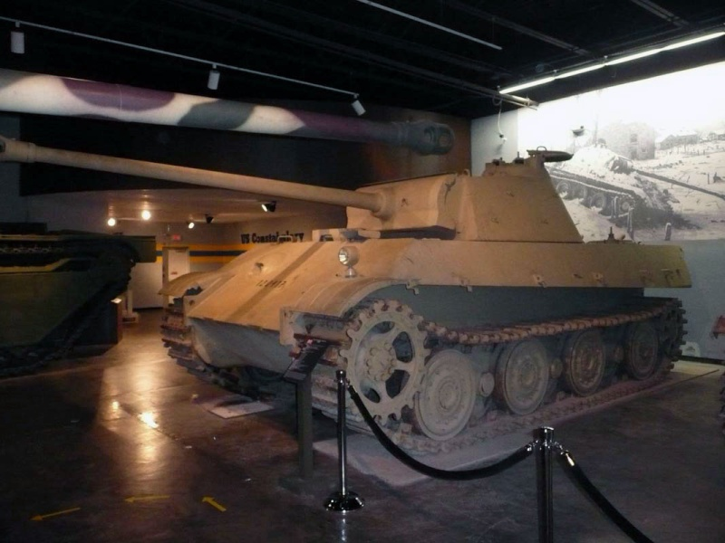 PzKpfw V Panther II - Patton Museum - USA P1130010