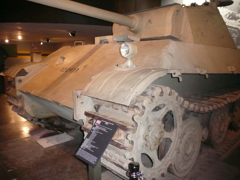 PzKpfw V Panther II - Patton Museum - USA P1130011