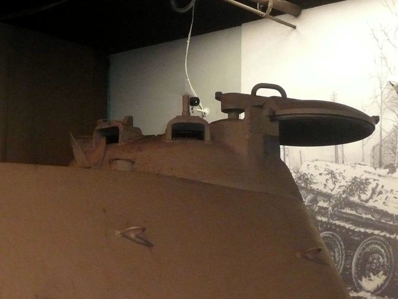 PzKpfw V Panther II - Patton Museum - USA P1130021