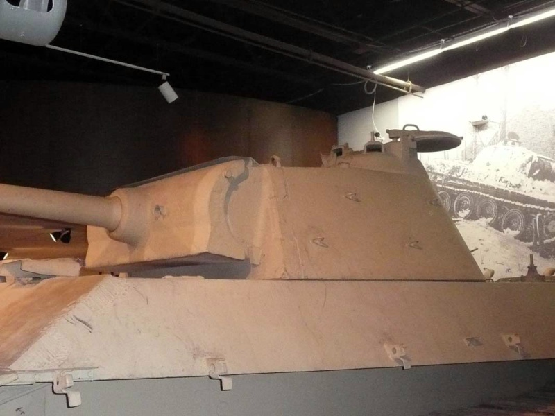 PzKpfw V Panther II - Patton Museum - USA P1130027