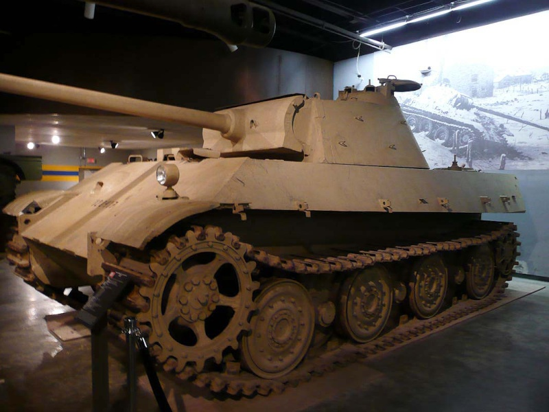 PzKpfw V Panther II - Patton Museum - USA P1150210