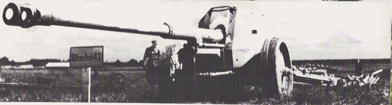 Pak 43 (Panzerabwehrkanone 43) - 88 mm Pak10