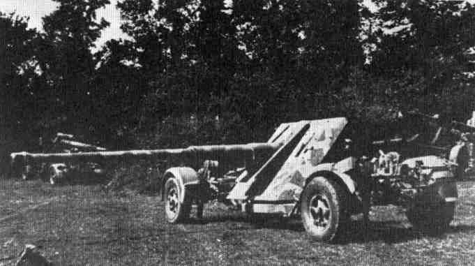 Pak 43 (Panzerabwehrkanone 43) - 88 mm Pak43-11