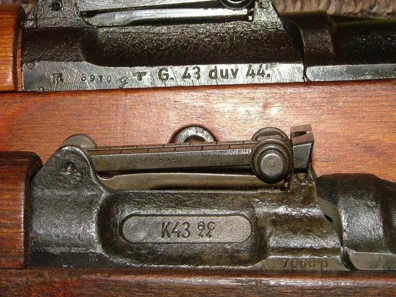 Walther Gewehr G43 Panelf10