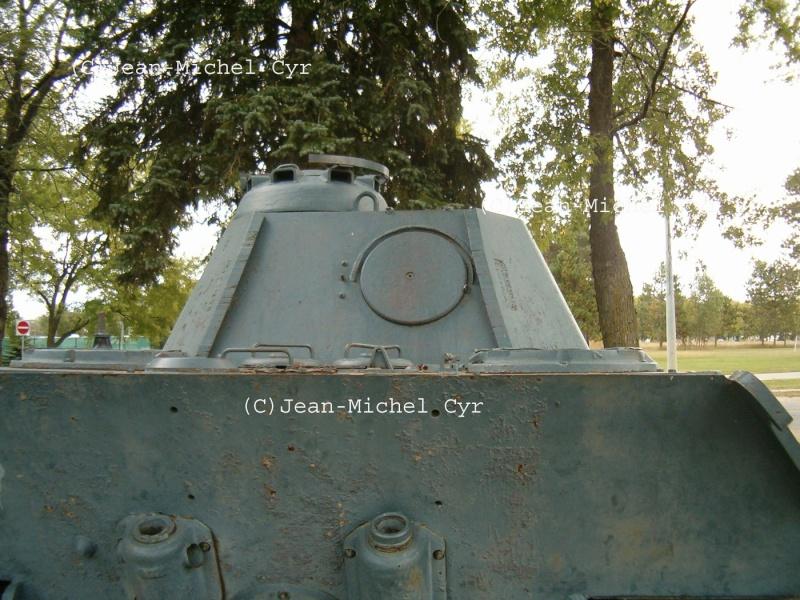 PANTHER AUSF. A - CAMP BORDEN - Canada Panth115