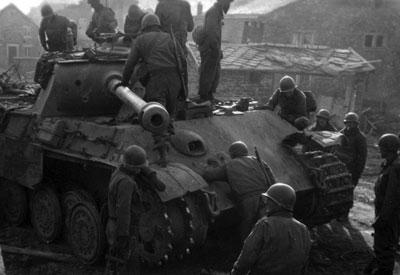Panzer Wreck - Normandie 1944 Panth120