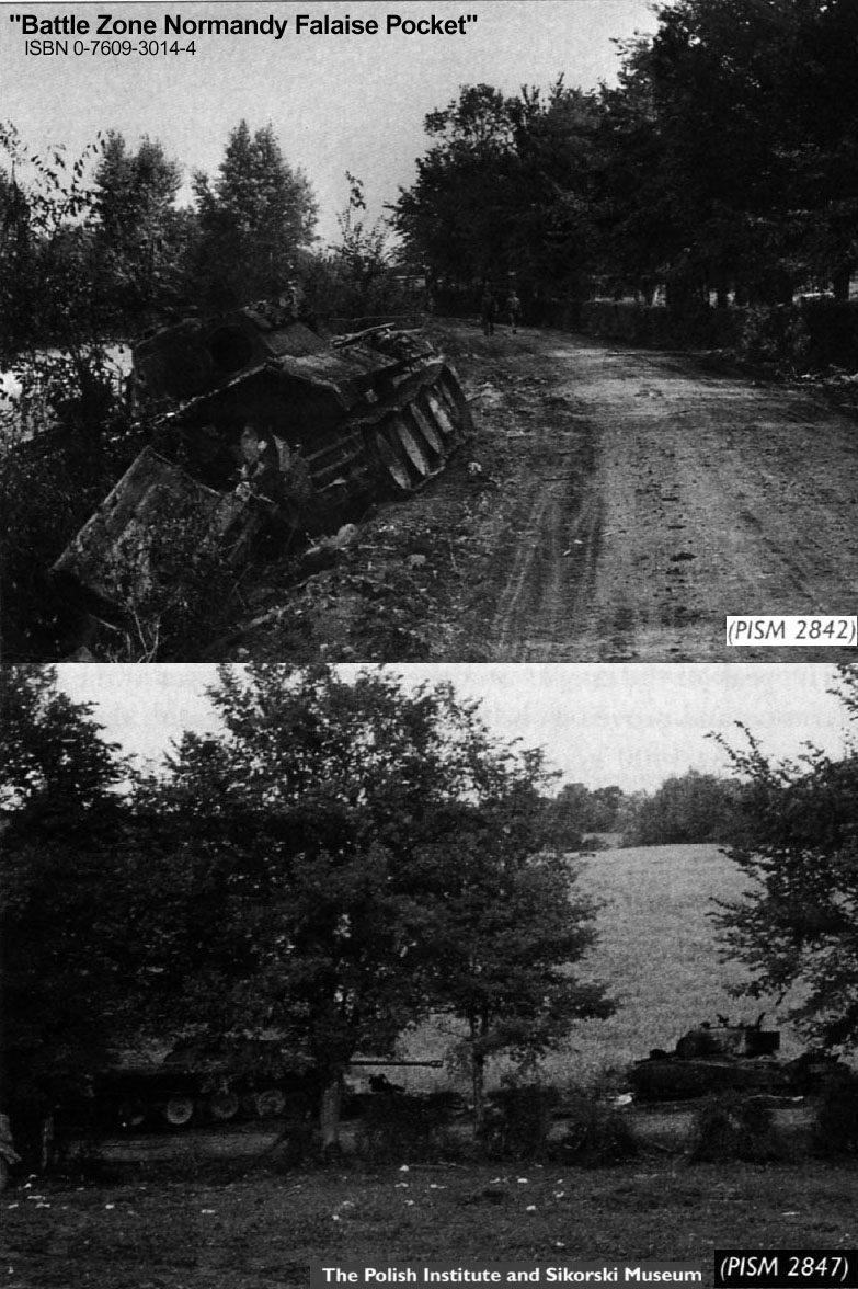 Panzer Wreck - Normandie 1944 Panth122