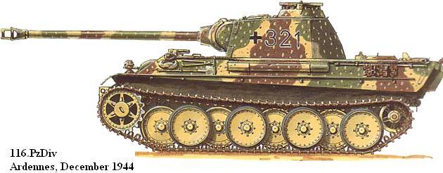 116 Panzer Division Panth134