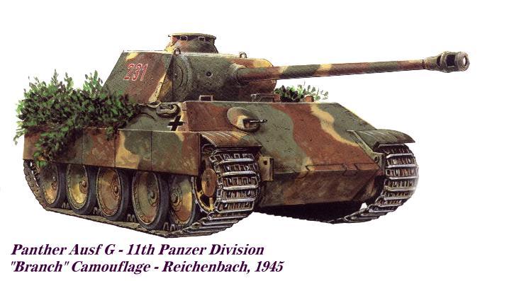 Histoire de la 11eme Panzer Division Panth136