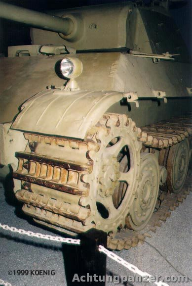 PzKpfw V Panther II - Patton Museum - USA Panth210