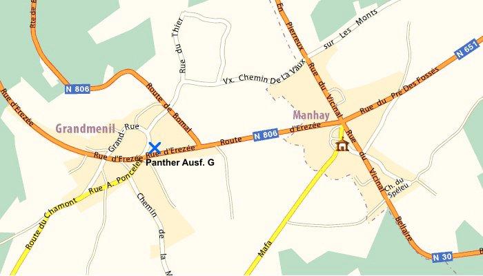 Le panther de grandmesnil - Belgique Panthe26