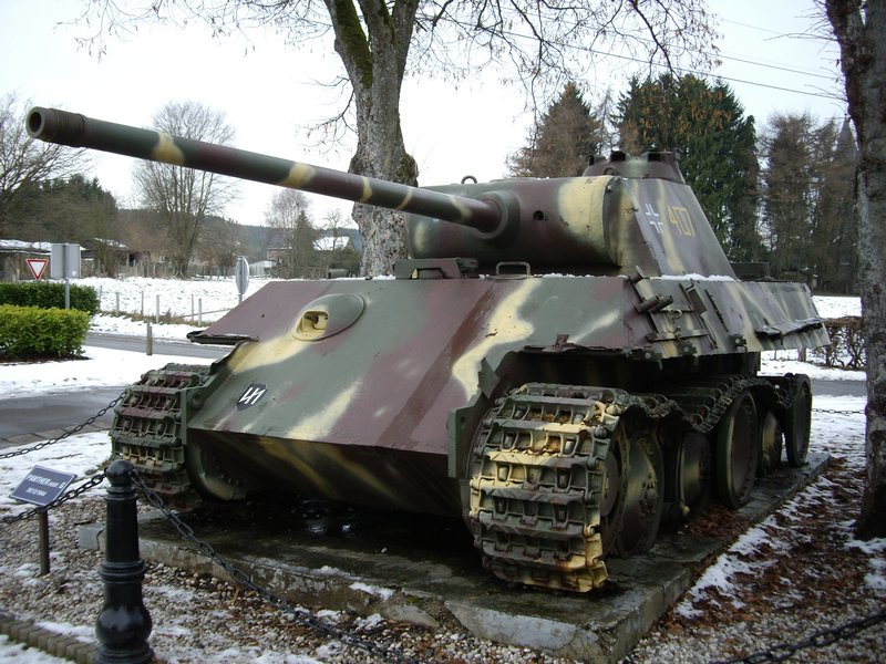 Le panther de grandmesnil - Belgique Panthe30