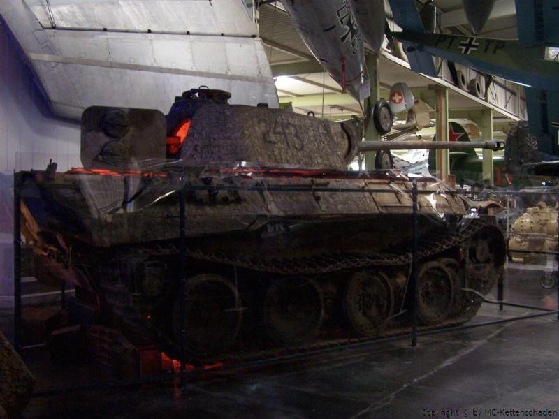 Panther Ausf. A im Technik Museum Sinsheim - DE Panthe53
