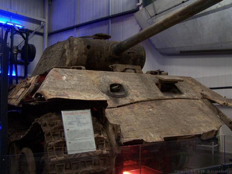 Panther Ausf. A im Technik Museum Sinsheim - DE Panthe55