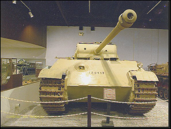 PzKpfw V Panther II - Patton Museum - USA Panthe80