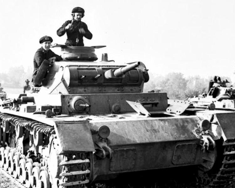 Panzerkampfwagen - Panzer III Panze109