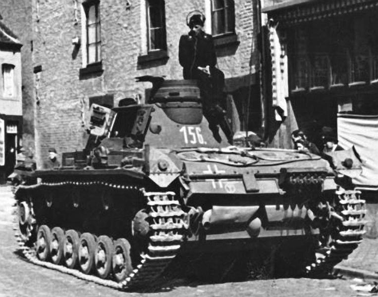 Panzerkampfwagen - Panzer III Panze111