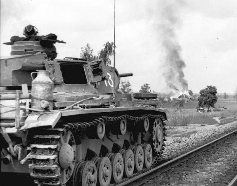 Panzerkampfwagen - Panzer III Panze114