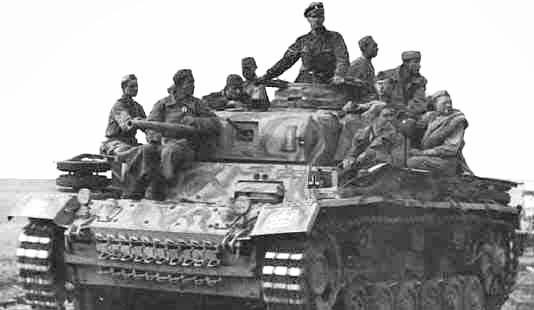 Panzerkampfwagen - Panzer III Panze119