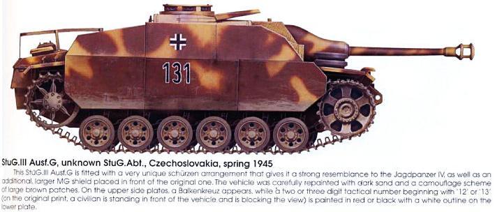 Sturmgeschütz III Panze156