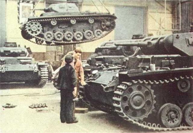 La Production des Panzer Panze160