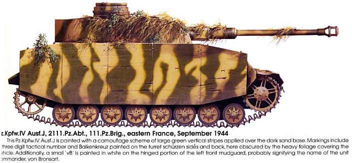 Camouflages, numerotation et marquages des Panzer Panze162