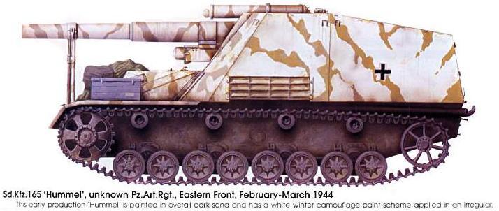 Camouflages, numerotation et marquages des Panzer Panze163