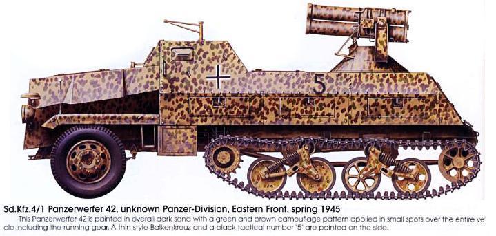 Camouflages, numerotation et marquages des Panzer Panze164